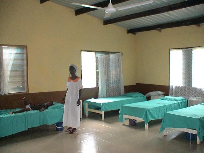 Clinique Amurtel au Ghana